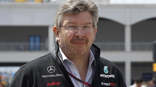 Mercedes boss Ross Brawn