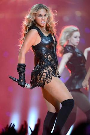 Beyonce performs during the Pepsi Super Bowl XLVII Halftime Show at Mercedes-Benz Superdome on February 3, 2013 in New Orleans -- Getty Premium