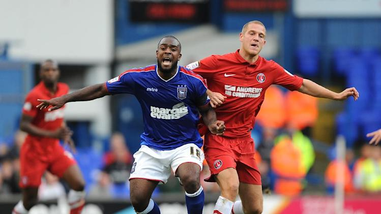Nathan Ellington, left, has made 19 appearances for Ipswich since joining in June 2011
