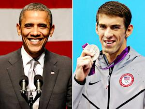 President Obama Tweets His Congrats to Michael Phelps