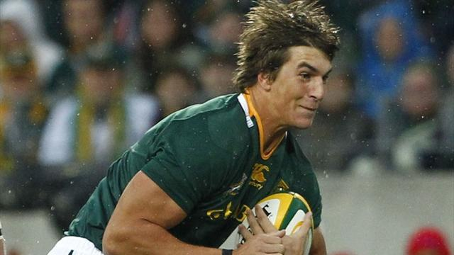 Rugby - Etzebeth faces months on sidelines with foot injury