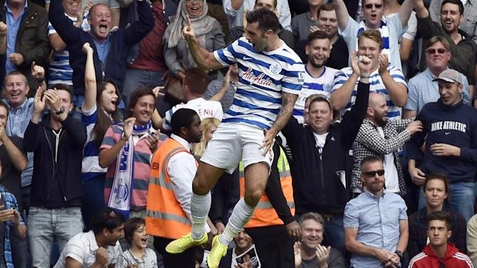 Premier League - Austin opens account to give QPR first victory