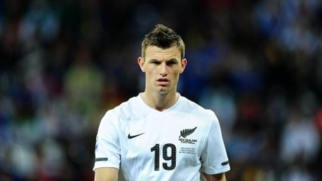 World Cup - Smith to captain NZ, Christie to start against Mexico