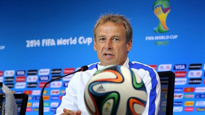 World Cup - Klinsmann criticises referee choice for Belgium clash