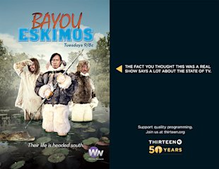 This Advertising Is Completely Fake And Its Brilliant image Bayou Eskimos2
