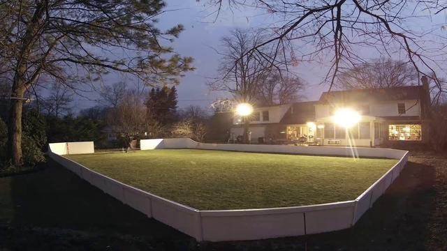 Watch a backyard rink built in 28,000 timelapse photographs
