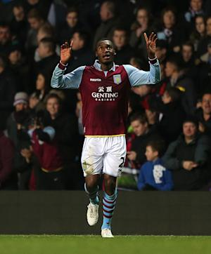Paul Lambert has told any interested clubs that Christian Benteke, pictured, is 'going nowhere'