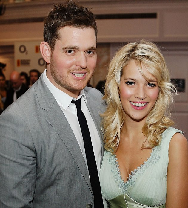 Michael Buble and his wife. Copyright [Wenn]