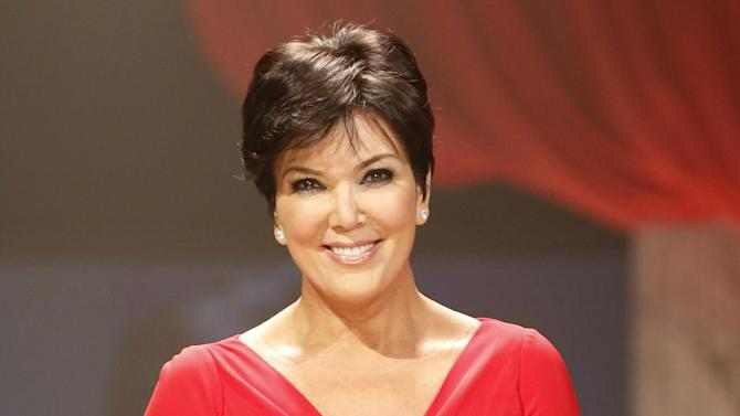 "FILE - This Feb. 6, 2013 file photo shows Kris Jenner at the Red Dress Collection 2013 Fashion Show in New York. The studio behind Kris Jenner's new daytime talk show says it will launch the program in July. Twentieth Television said Thursday that the show, titled ""Kris,"" will air for six weeks starting July 15 on selected Fox-owned stations. Those will include stations in New York and Los Angeles, with more to be announced later. Jenner is the matriarch of the media clan that includes daughters Kourtney, Kim and Khloe Kardashian. (Photo by John Minchillo/Invision/AP, file)"