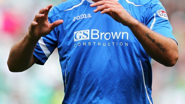 Football - Caley shut out by Saints