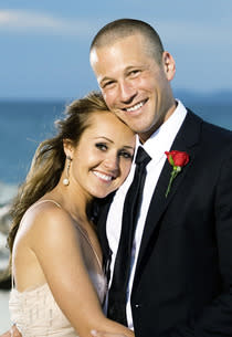 Ashley Hebert and J.P. Rosenbaum  | Photo Credits: Matt Klitscher/ABC via Getty Images