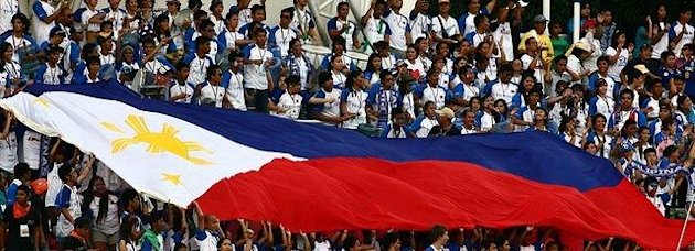 Yes, there are heroes among us. (The Philippine flag; File photo by NPPA Images)