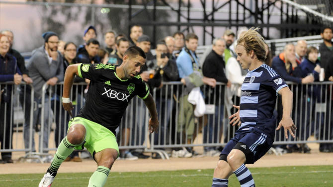 MLS: Preseason-Seattle Sounders vs Sporting Kansas City
