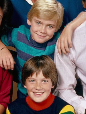 Jason Bateman and Ricky Schroder in 'Silver Spoons'