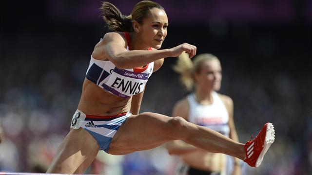 Olympic Games - Ennis 'fears failing' at 100m hurdles