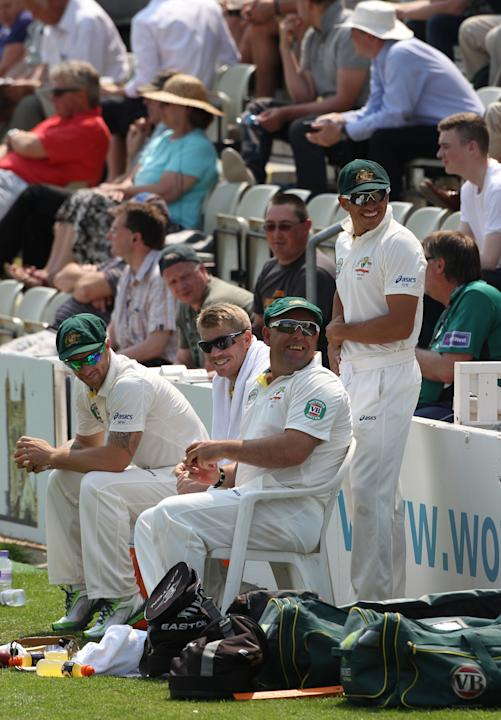 Cricket - International Tour Match - Day Four - Worcestershire v Australia - New Road