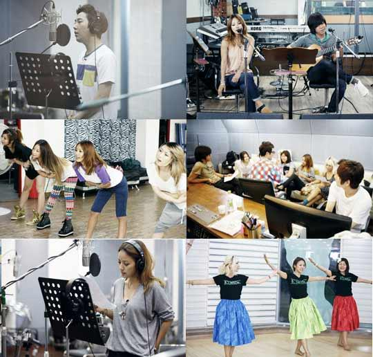 Lee Hyori, Boyfriend Lee Sang Soon, 'Golden 12' Cast Rehearse for Charity Concert