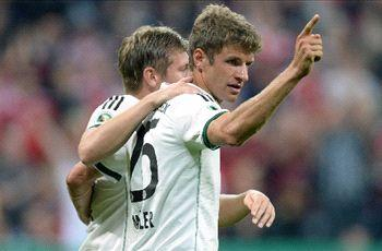 Germany round-up: Relentless Bayern crush Hannover