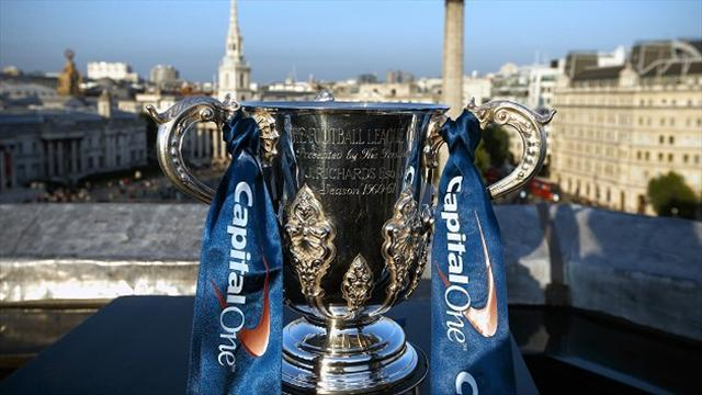 League Cup - Arsenal draw Chelsea, City travel to Newcastle