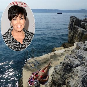 Kris Jenner Posts Bikini Body Picture After Kim Kardashian Does