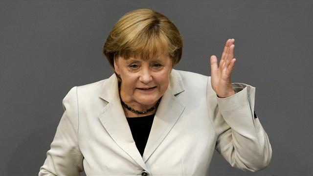 Champions League - Merkel to attend all-German final at Wembley