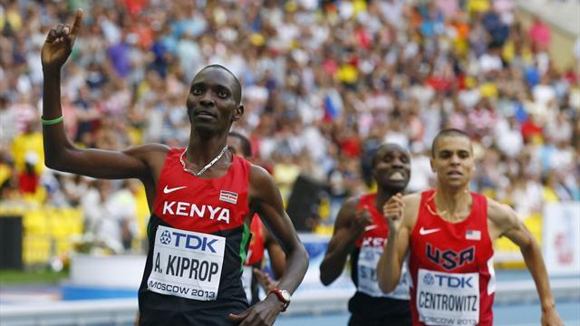 World Championships - Kiprop defends 1500m title in Moscow