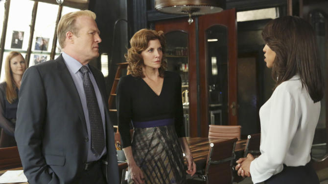 """Scandal"" -- ""Snake in the Garden"" DARBY STANCHFIELD, GREGG HENRY, MELINDA MCGRAW, KERRY WASHINGTON"
