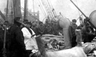 Titanic Burial At Sea Photo To Be Auctioned