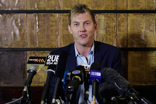 Brett Lee Media Call