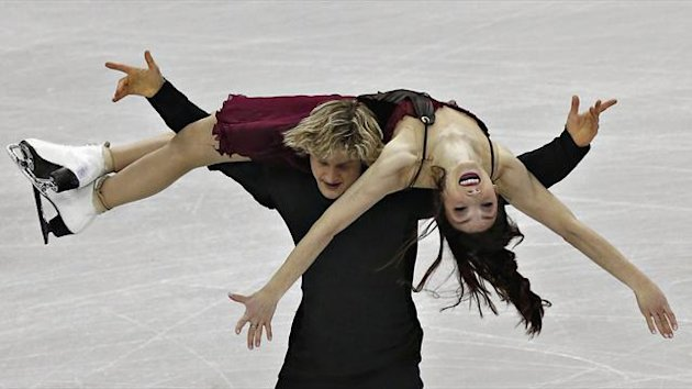 Meryl Davis and Charlie White (Reuters)