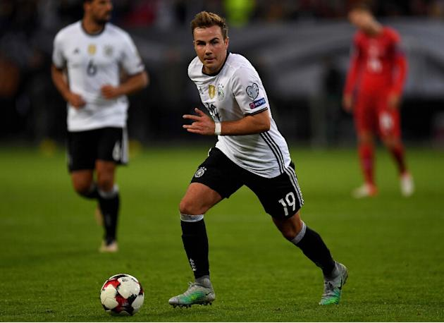 Borussia Dortmund star Mario Goetze has been sidelined indefinitely by a metabolism disorder and will miss the Champions League round-of-16, second-leg clash at home to Benfica