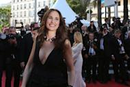 You wouldn't think that Andie MacDowell, pictured at the Cannes Film Festival, would have confidence problems. But the US actress and long-time face of cosmetic giant L'Oreal insists she is like any other woman getting older