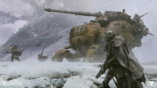 Halo creator Bungie forced to release first pic of new game before it wanted. Gaming, Bungie, Halo, Destiny 0