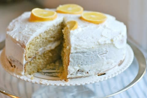 Meyer Lemon Layer Cake
