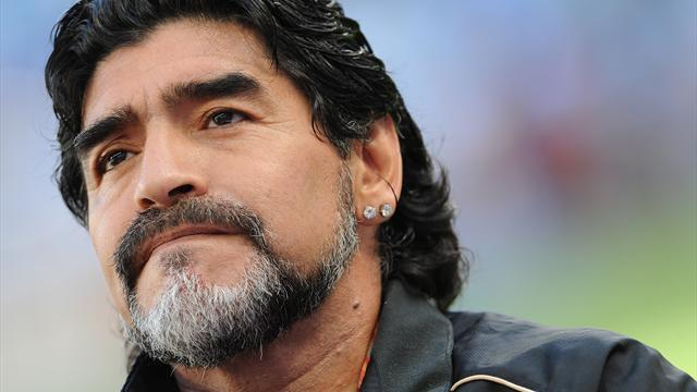 World Football - Maradona lands Dubai ambassador role