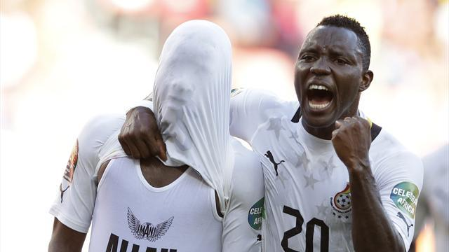 African Cup of Nations - Burkina Faso v Ghana: Semi-final LIVE