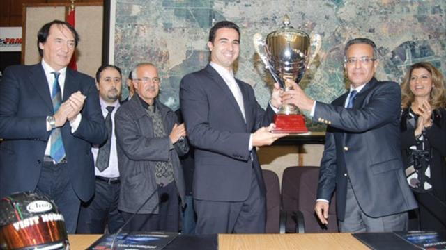 WTCC - Bennani receives award in Rabat