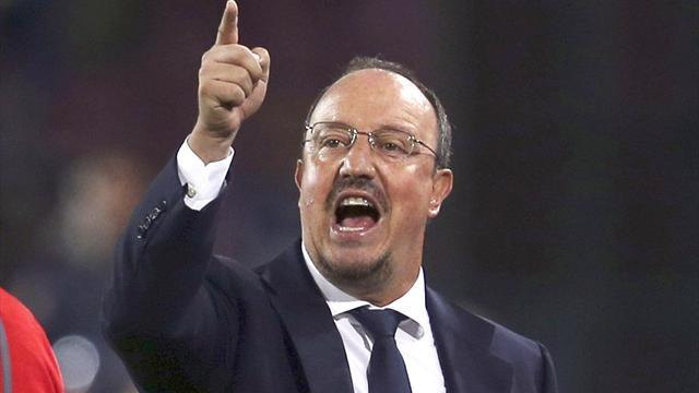 Serie A - Benitez has ten year vision at Napoli