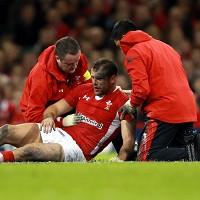 Jamie Roberts, centre, is hoping for more luck with injuries against Australia