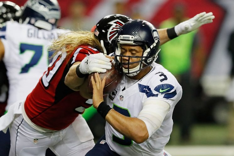 Russell Wilson has had better plays. (Getty)