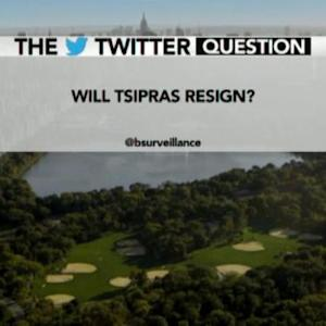 Will Alexis Tsipras Resign as Greek Prime Minister?