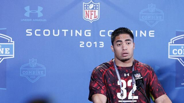 American Football - Chargers pick Te'o in second round of NFL Draft