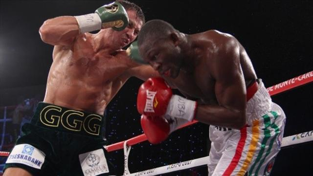 Boxing - Golovkin retains title in Monte Carlo