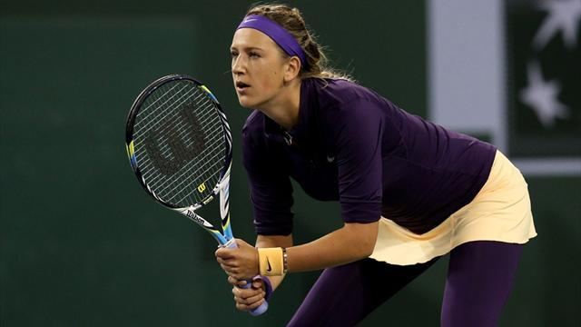 Tennis - Azarenka, Kerber fight back at Indian Wells
