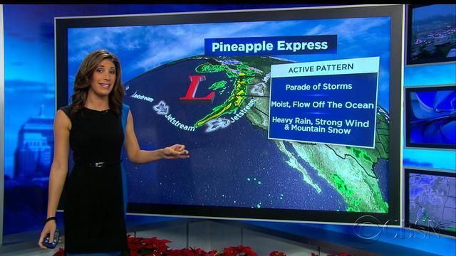 "Northern California braces for ""Pineapple Express"""