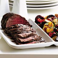 Your dinner party guests will go mad for this wonderful roast beef recipe, featuring the aromatic spices of Indian cooking