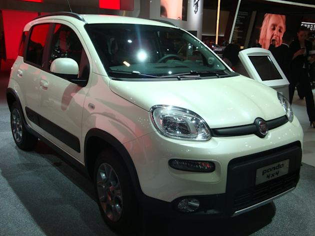 Fiat Panda 4x4 - Live Salon Paris 2012