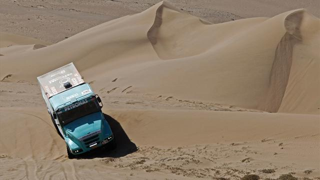 Dakar - Trucks: De Rooy makes it three from three