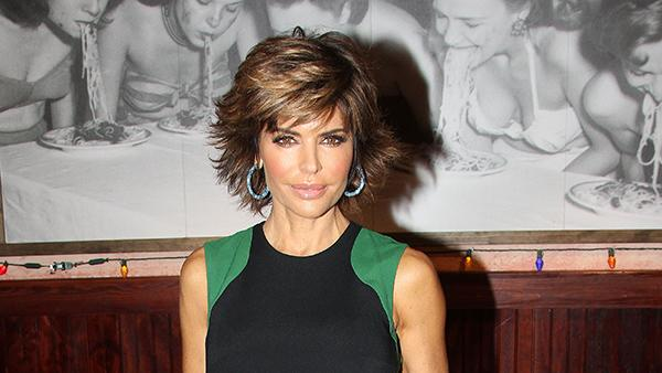 Lisa Rinna Marinara Sauce Handprint Ceremony