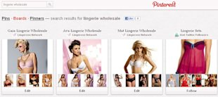 Developing a Strategy for Pinterest Group Boards image lingerie wholesale in Pinterest boards